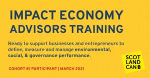 Impact economy advisors training